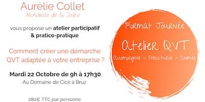 Comment créer une démarche QVT adaptée à votre entreprise ? - 22 Octobre - Rennes - Format Journée