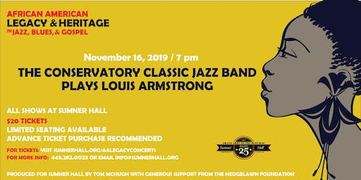 The Conservatory Classic Jazz Band Plays Louis Armstrong