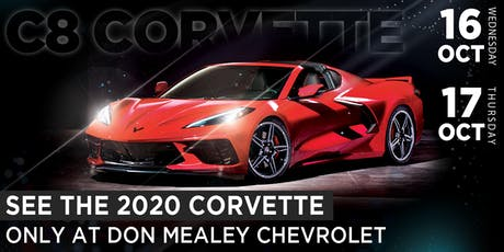2020 Corvette - Interactive Experience at Don Mealey Chevrolet tickets