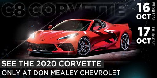 2020 Corvette - Interactive Experience at Don Mealey Chevrolet