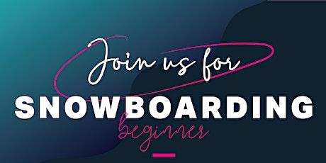 Women's Snowboard Beginner Session tickets