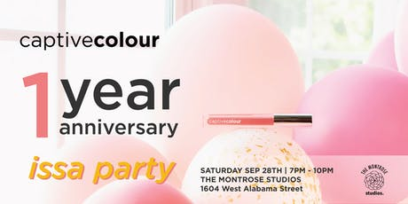 CaptiveColour's One Year Anniversary Mixer tickets