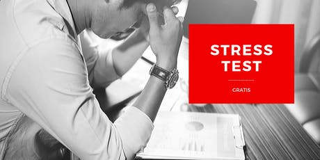 Cita Privada para hacer TU STRESS TEST - PRUEBA DEL ESTRÉS GRATIS - DIURNA tickets