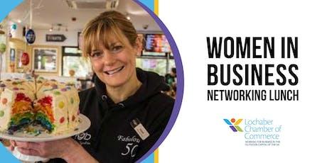 Lochaber Ideas Week 2019 - Women In Business Networking Lunch tickets