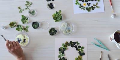 atelier herbier avec Be Vegetal My Friend
