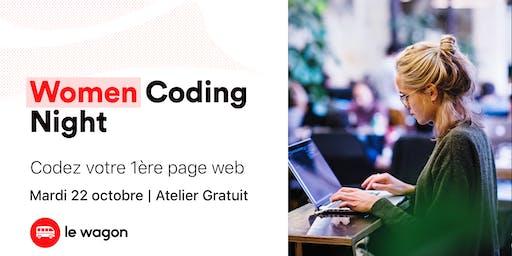 Women Coding Night : Créez votre 1ère page web !