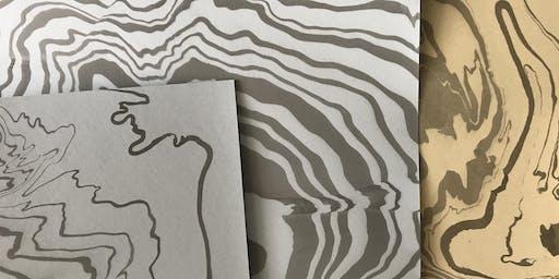 Paper Marbling Workshop at Domain