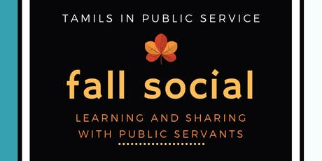 TiPS Fall Social: Learning + Sharing with Public Servants tickets