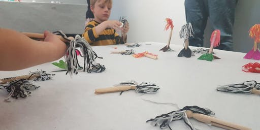 Make Witchy Dollies the Old-Fashioned Way!