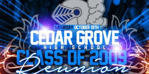 Cedar Grove Class of '09 Reunion