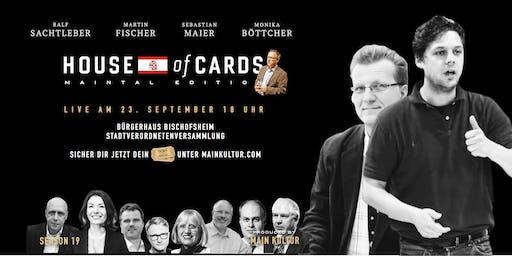 "House of Cards ""MAINTAL EDITION"" Stadtverordnetenversammlung"