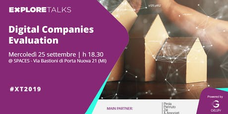 Explore Talks - Digital Companies Evaluation biglietti