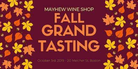 Mayhew Wine Shop Fall Grand Tasting tickets