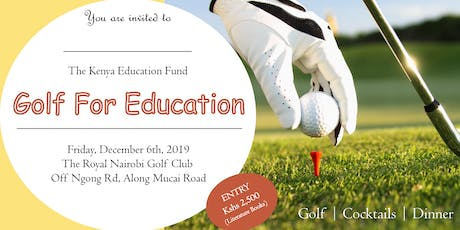 Golf For Education tickets