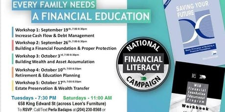 Financial Education Workshop tickets