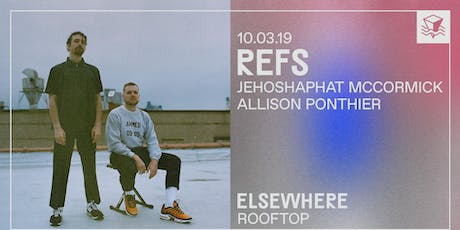 Refs @ Elsewhere (Rooftop) tickets