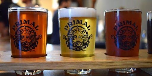 Primal Brewery Beer Tasting/ Pairing Extravaganza