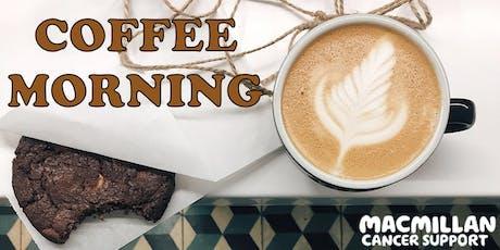 Macmillan Coffee Morning at Tusk Baltic tickets