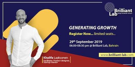 Generating Growth by Khalifa Laaksonen tickets