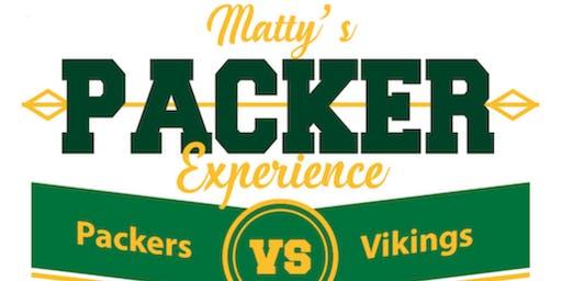 Matty's Packer Experience - Packers vs Vikings