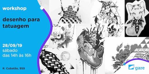 Workshop: Desenho para Tatuagem
