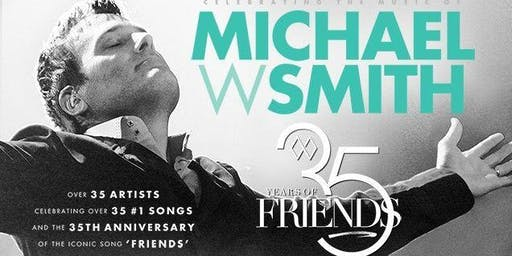 Michael W. Smith - 35 Years of Friends Tour Merch/Lobby Volunteer - Witchita, KS