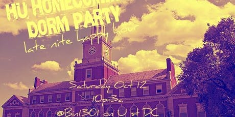 Howard Homecoming Dorm Party Late Nite Happy Hour tickets