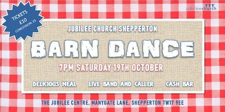 Jubilee Church Barn Dance tickets