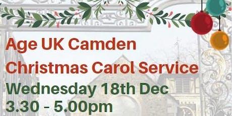 Age UK Camden Christmas Carol Service tickets