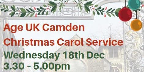 Age UK Camden Christmas Carol Service