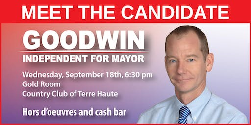 Meet the Candidate - Pat Goodwin for Mayor of Terre Haute