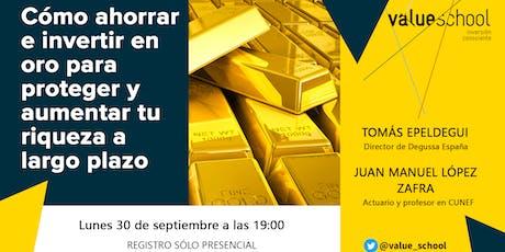 Cómo ahorrar e invertir en oro para proteger y aumentar tu riqueza a largo plazo entradas