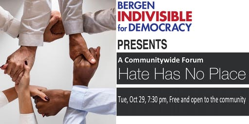 Hate Has No Place - A Communitywide Forum