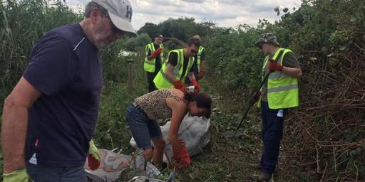 Practical workday, Walthamstow Wetlands, Weds 25th Sept 2019 with London Wildlife Trust