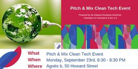 Pitch & Mix Clean Tech Event at Agnès B tickets