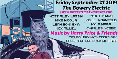 NYC Stand Up Comedy at The Bowery Electric tickets