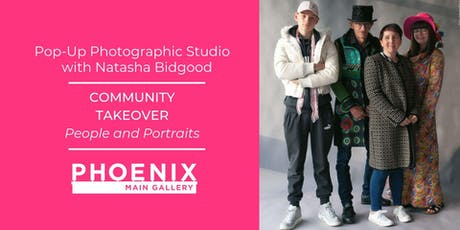 Community Takeover: Pop-Up Photo Studio (21 Sept, 28 Sept, 5 Oct) tickets