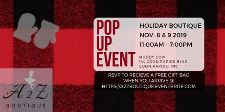 A2Z Pop Up Boutique Event tickets