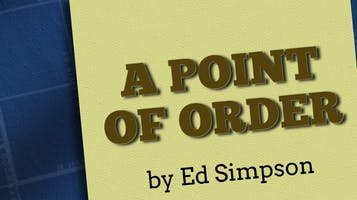"""A Point of Order"""