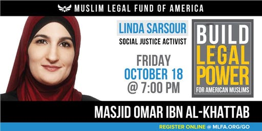 Build Legal Power for American Muslims with Linda Sarsour - Columbus, OH