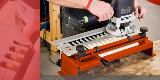 High Wycombe Store - UJK Technology Dovetail Jig With Andre May