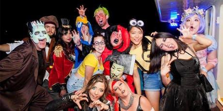 NYC Halloween Night Yacht Party Cruise at Skyport Marina tickets