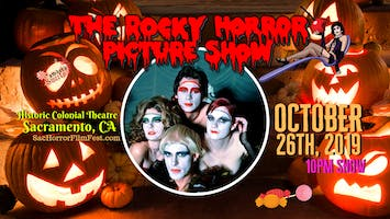 """The Rocky Horror Picture Show"" with Live Shadowcast Amber's Sweets"