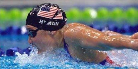 Colorado LSC Swim Clinic w Olympians MISTY HYMAN & KATIE MEILI - Sat Oct 5, 2019 (9-12yr olds 9-12pm & 13-15yr olds 11-2pm) tickets