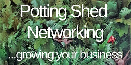 Potting Shed Networking tickets