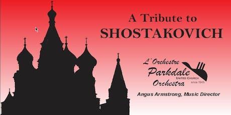 Tribute to Shostakovich tickets