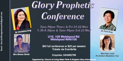 Glory Prophetic Conference