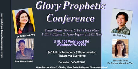Glory Prophetic Conference tickets