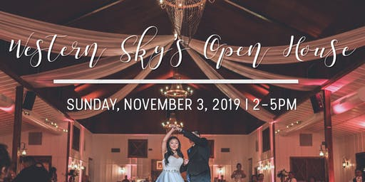 Western Sky Open House - November 3, 2019