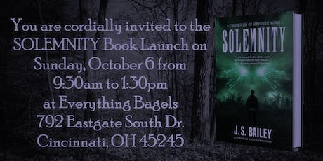 Solemnity Book Launch Book Signing tickets